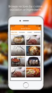 cuisine mobile occasion le creuset recipes on the app store