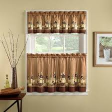 walmart curtains valances and tiers farmhouse country kitchen