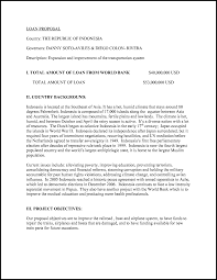 Writing A Business Proposal Letter Sample by Business Proposal Letter For Bank Loan Sample Cover Letter Templates