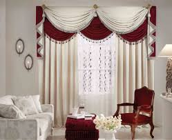 curtains valuable red brown and white curtains beloved