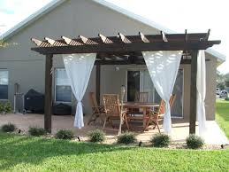 Pergola With Curtains Cool Curtains For Pergola Decor With Netting Curtains 8 Top