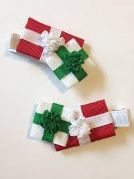 christmas hair bows u2013 happy holidays