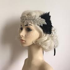 hair fascinator online shop feather diamante rhinestones bridal wedding