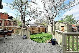 Deck In The Backyard Victorian Brick House In Denver Colorado Circa Old Houses Old