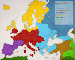 Religious Map Of Europe by Poitiers Europe 1780 Religions By Artaxes2 On Deviantart