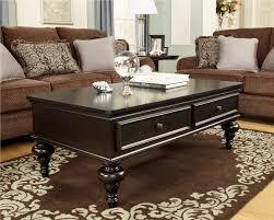 Ashley Furniture Coffee Table Ottoman Glass Table Glass Table