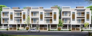 row housing elevation design gharexpert modern row house designs