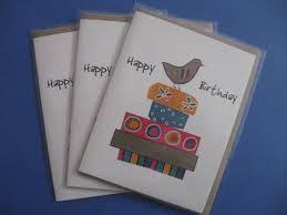 greeting card wood bunnies brenda