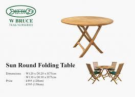 teak tables w bruce teak nurseries