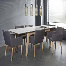 table de cuisine moderne table salle manger verre design et collection avec table de