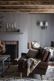 expert advice how to use wood paneling to add loftiness to a room