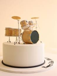 14 Best Drum Cake Images On Pinterest Drum Cake Birthday Cakes