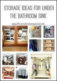 Bathroom Sink Storage Solutions Lovely Bathroom Sink Storage Or Large Size Of Sink