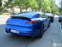 porsche panamera 2015 blue porsche 970 panamera gts mkii 28 june 2015 autogespot