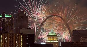new year st flurry touch to 2019 nye celebration in st louis