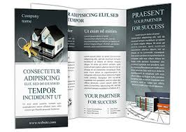 real estate property brochure template u0026 design id 0000000617