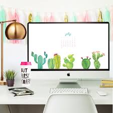 Modern Desk Calendar by 4 Cute And Free July 2016 Desktop Wallpaper Calendars Lovely