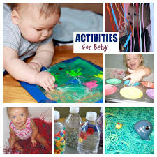 sensory play activites for babies growing a jeweled