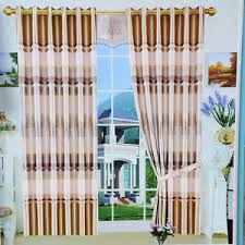 Multi Colored Curtains Drapes Efle 2 Pcs New Multi Colored Jacquard Blackout Window Curtains