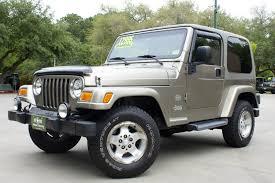 2003 jeep wrangler transmission 2003 khaki metallic 12 995 year of the seat design