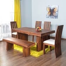 6 seater dining table and chairs home by nilkamal delmonte six seater dining table set brown best