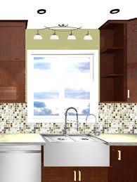 Kitchen Sink Lighting Kitchen Ideas Lighting Above Sink Recessed Kitchen On