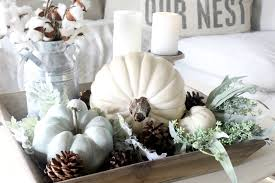how to create an easy and pretty fall vignette the glam farmhouse