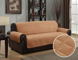 Sofa Protector Kashi Home Micro Suede Furniture Protector Couch Sofa Love Seat