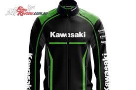 kawasaki riding jacket kawasaki team jackets available through kawasaki dealers bike review