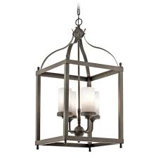 kichler lighting larkin outdoor hanging light 49590oz
