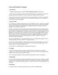 Terms And Conditions 5 Terms And Conditions Template Tristarhomecareinc