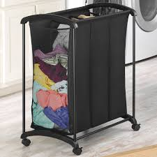 Laundry Hamper 3 Compartment by Triple Sorter Laundry Hamper