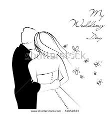 and white wedding black white wedding background stock vector 51952633
