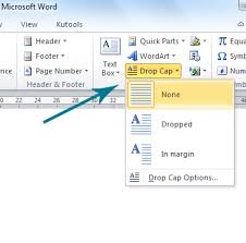 How To Do A Resume On Word 2010 How To Drop Cap In Microsoft Word 2010 And 2007
