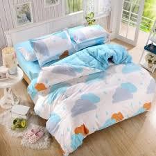 Kids Bed Sets Cakes Sweet Kids Bedding Set Twin Single Size Bedlinen Pure Cotton