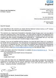 Complaints Letter To Hospital phso complaints the they called allnights