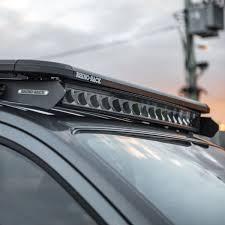nissan frontier led light bar 40 5 inch st2k curved super drive 16 led light bar