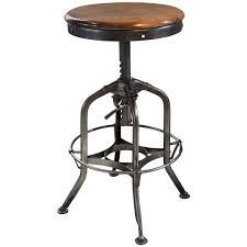 Adjustable Height Bar Table Adjustable Wood Bar Stools Metal And Height Black Stool Backless