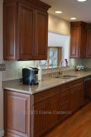 Kitchen With Maple Cabinets Wolf Classic Cabinets Hudson Maple Door Heritage Brown With