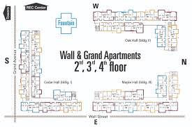 floor plans for apartments floor plans university housing
