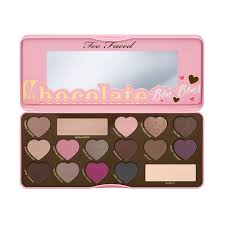 chocolate bon bons eye shadow collection palette too faced too