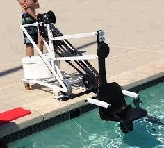 siège handicapé siège de mise à l eau mobile unikart pour pmr