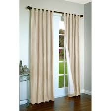 curtains on sliding glass doors