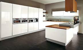 Kitchen Cabinets Contemporary Style Astounding Contemporary Kitchen Cabinets In White Home
