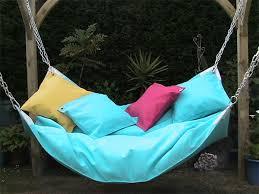 oversized outdoor hammock beanock a hammock and beanbag combo