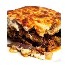 cuisine grecque moussaka moussaka plat feta gourmande livraison à domicile grec mons