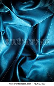Drapery And Upholstery Fabric Texture Background Template Silk Fabric Blue Stock Photo 714216565
