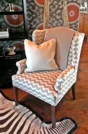 Wing Chair Slipcover Pattern No Sew Wing Chair Slipcover Made By Hand Pinterest Chair