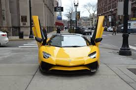 yellow lamborghini aventador for sale 2017 lamborghini aventador lp 750 4 sv roadster stock 06016 for
