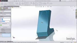 example of part using solid combine command in solidworks youtube